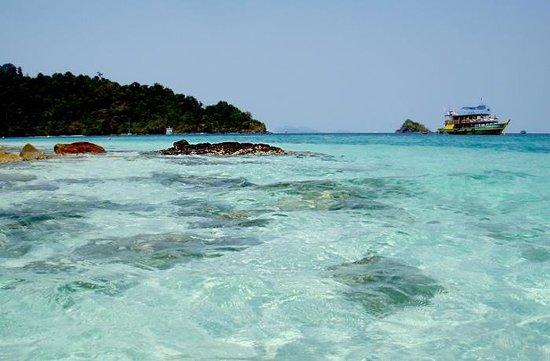 Kon Tiki  Koh Chang: Прозрачное море