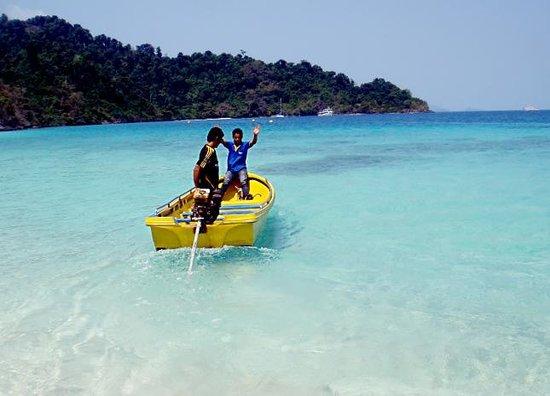 Kon Tiki  Koh Chang: Прекрасное море