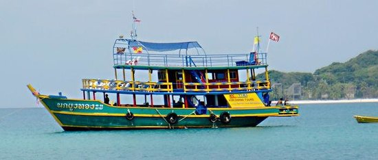 Kon Tiki  Koh Chang: палубы