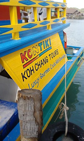Kon Tiki  Koh Chang: Вид сбоку