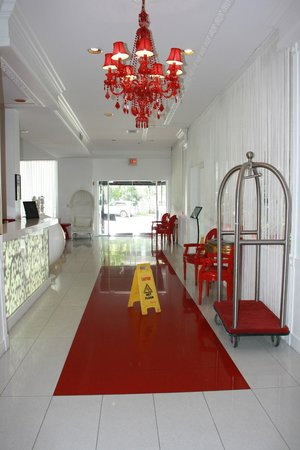 Red South Beach Hotel: entrée