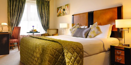 The Grand Hotel Tralee: Double bed room