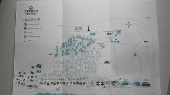 Phi Phi Island Village Beach Resort : Hotel Map