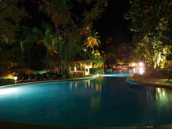 Paradisus Punta Cana: piscine de nuit