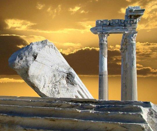 Temple of Apollo: мой  взгляд  на  храм Аполлона