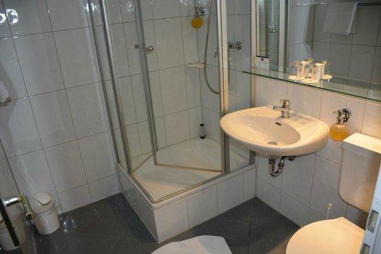 Best Western Raphael Hotel Altona: Baño simple.