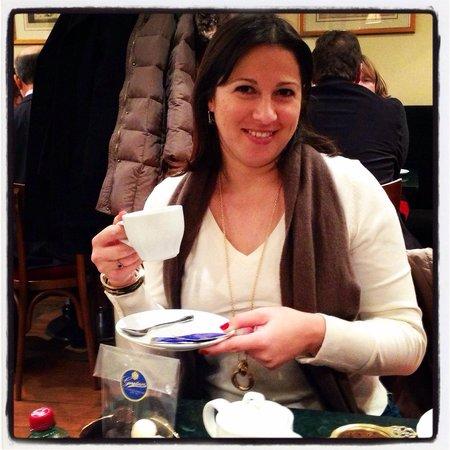 Gerstner K&K Hofzuckerbäckerei: Enjoying some good tea