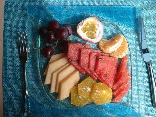 InterContinental Resort Mauritius: dessert différents fruits