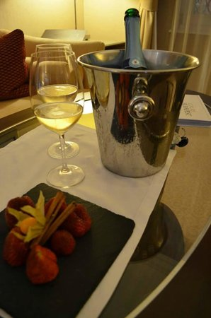 Corinthia Hotel Budapest : Honeymoon gift from the hotel