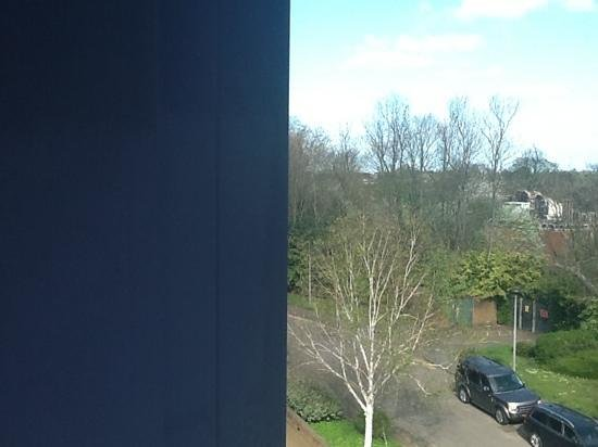 Holiday Inn Express Windsor: our room view, not bad at all