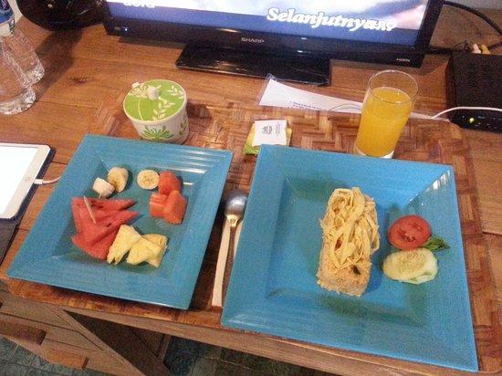 Tiga Lima Homestay: Breakfast: Nasi Goreng