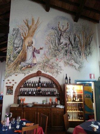 Hotel Residence Sant'Uberto : Particolare del ristorante