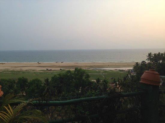 Somatheeram Ayurveda Resort: Blick auf die Arabische See
