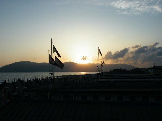 Hotel Delfino: tramonto