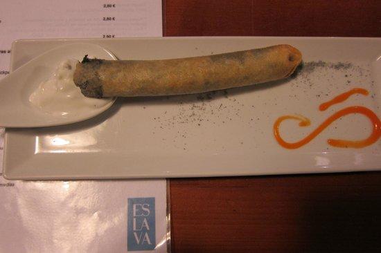 Restaurante Eslava: Prize winning tapa