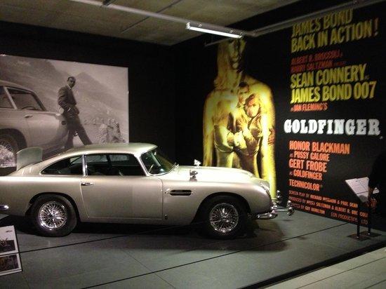 Louwman Museum The Hague: Goldfinger