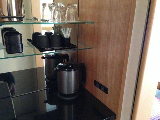 Marunouchi Hotel: kettle
