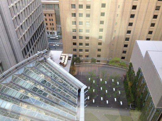 Marunouchi Hotel: view outside