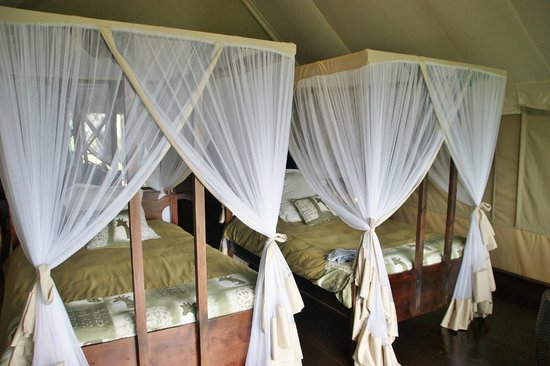 Lake Ndutu Luxury Tented Lodge: notre  chambre