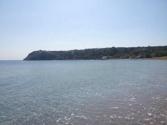Irene Palace Beach Resort: view from beach