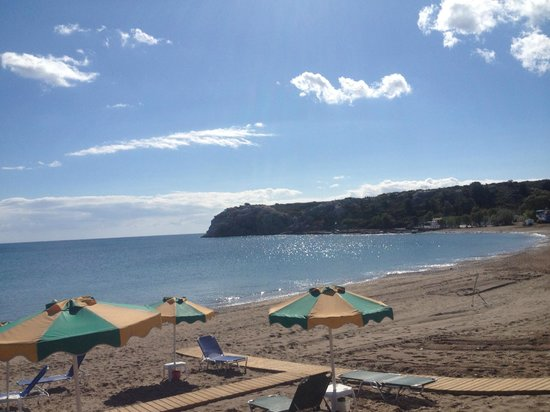 Irene Palace Hotel: beach