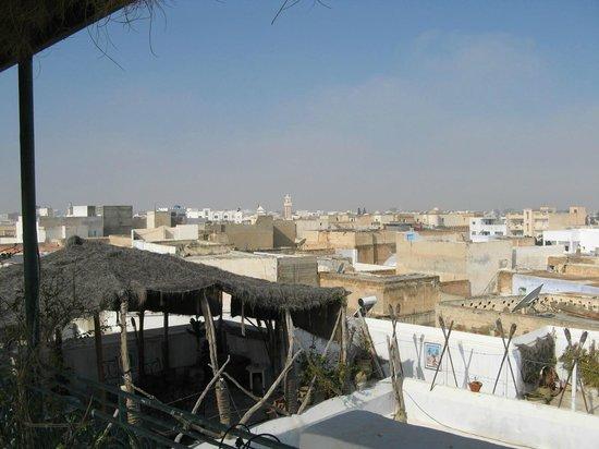 Dar Hassine Allani : vue de la terrasse