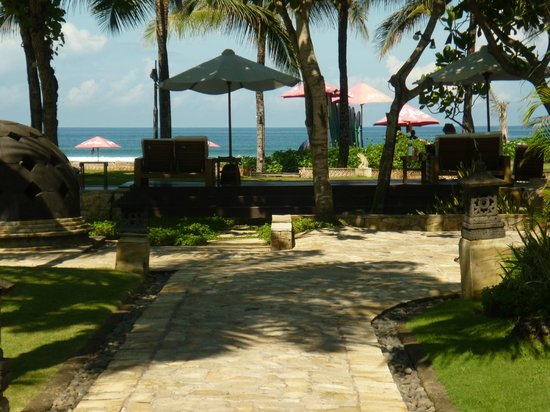The Royal Beach Seminyak Bali - MGallery Collection: great view to the beach