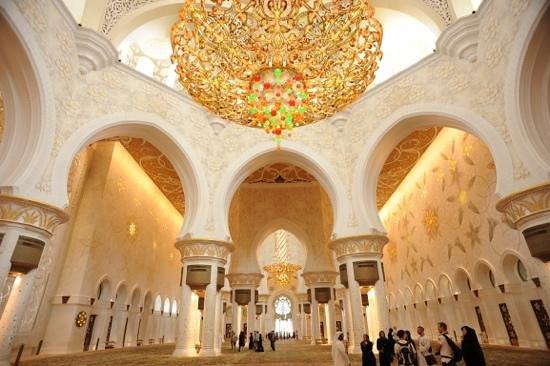 Mezquita Sheikh Zayed: it's really very beautiful