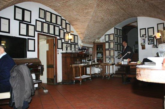 La Taverna : Entrando nel locale