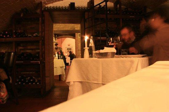 La Taverna : Interno