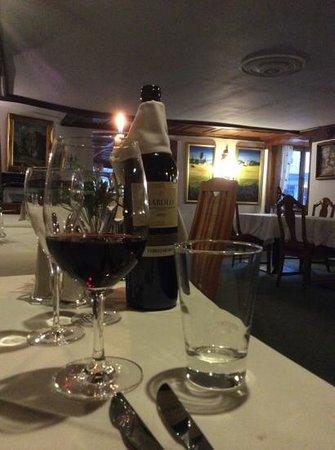 Hotel Ludwig Royal: Diner