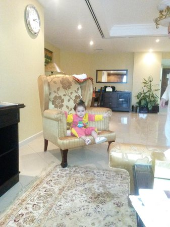 Deira Suites Hotel Apartment: The Recepition Of Apartment