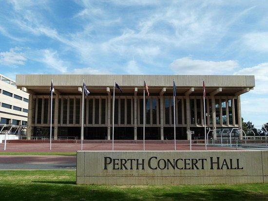 Perth Concert Hall: Exterior