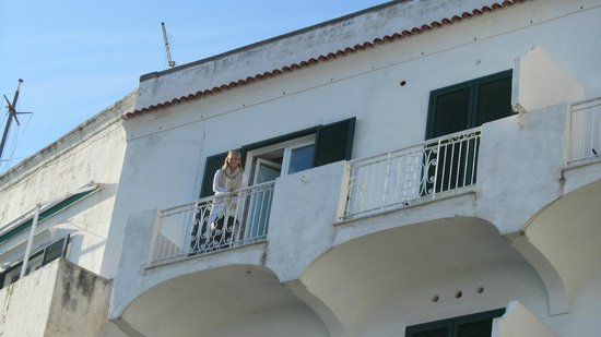Hotel Luna Convento: Me on our balcony