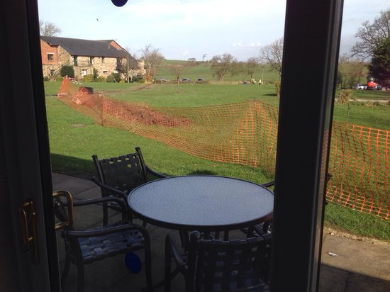 Thurnham Hall: Caged in! No privacy
