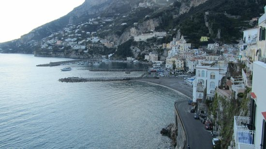 Hotel Luna Convento: More views of Amalfi from our room