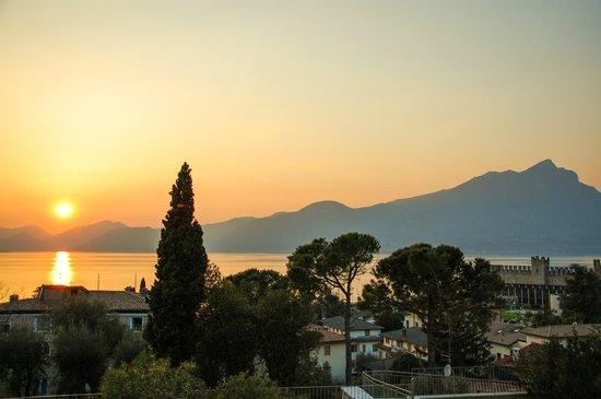Residence Ca del Lago: Sunset-Panorama