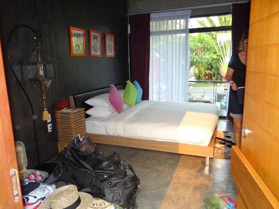 Villa Thapae : notre chambre
