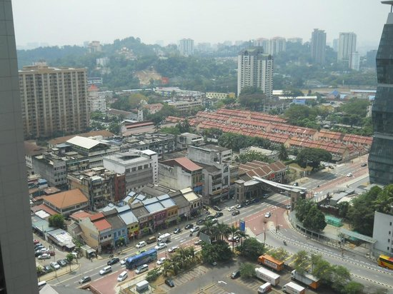 Aloft Kuala Lumpur Sentral: エレベーターホールからの眺め