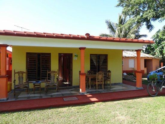 Villa El Habano: La terrasse de la casa