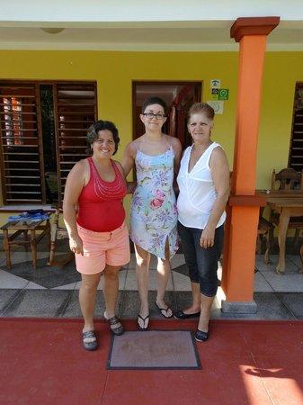 Villa El Habano: Yuneyka (à gauche) et Berta (à droite), nos hôtes formidables
