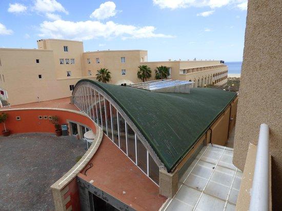 SBH Jandía Resort : widok z mojego pokoju 257
