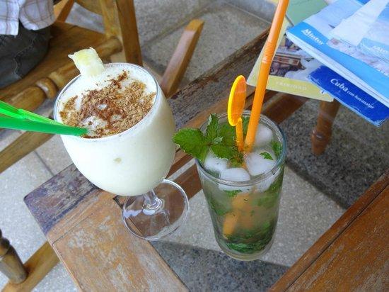 Villa El Habano: D'excellents cocktails !!!