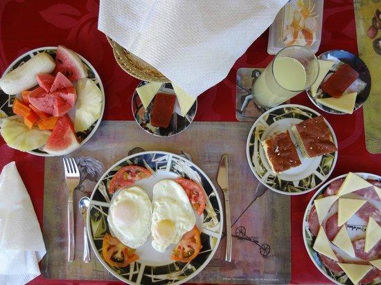 Villa El Habano: Petit déjeuner