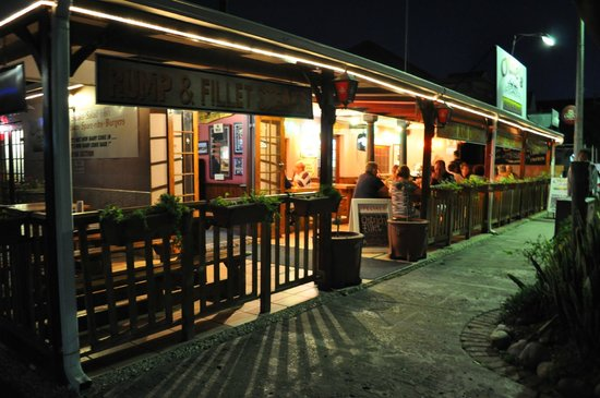 Olde's Pub and Grill: Evening View