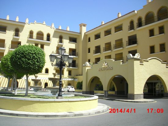 Palm Oasis Maspalomas: Entrance
