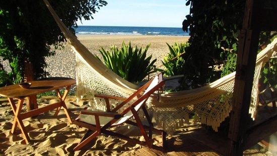 Casa na Praia Tofo: vom Bungalow Nr. 2