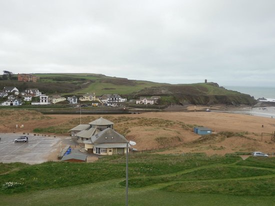 The Beach at Bude: Summerleaze beach - view from room 14