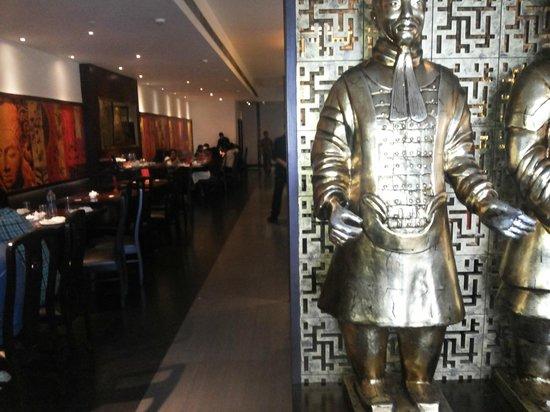 Mainland China: A view of the Restaurant inteiror