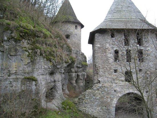 Kamenet's Podolsky Castle : Оборонительніе башни старого города